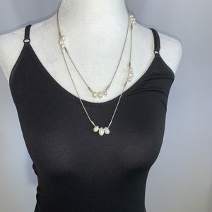 NWT Silpada Sterling Silver & Pearl Necklace